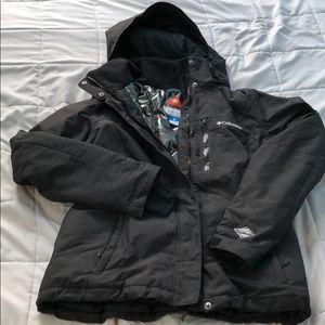 Columbia Omni-tech winter snow jacket